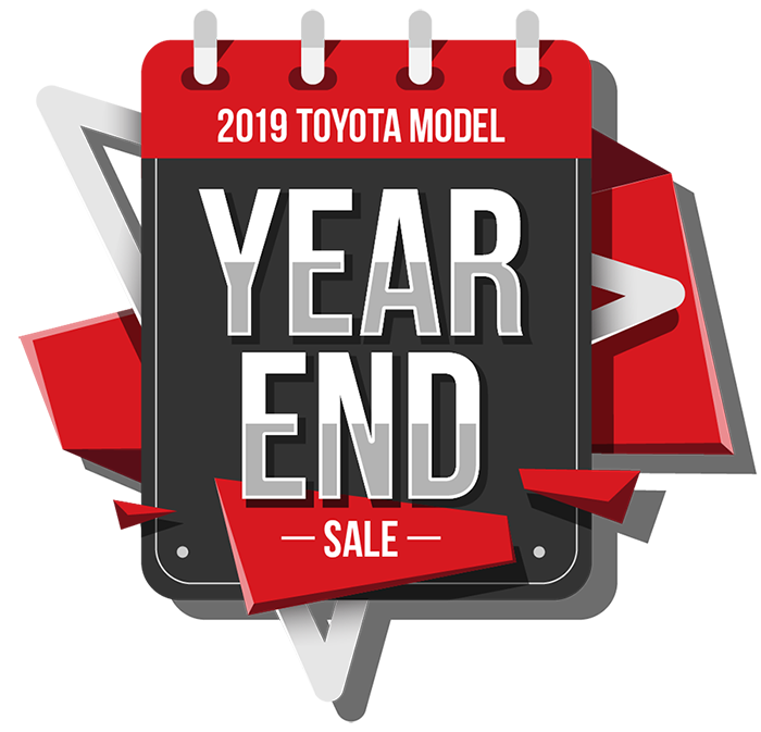 2019 Toyota Model Year End Sale