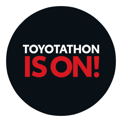 Toyotathon Is On! Logo