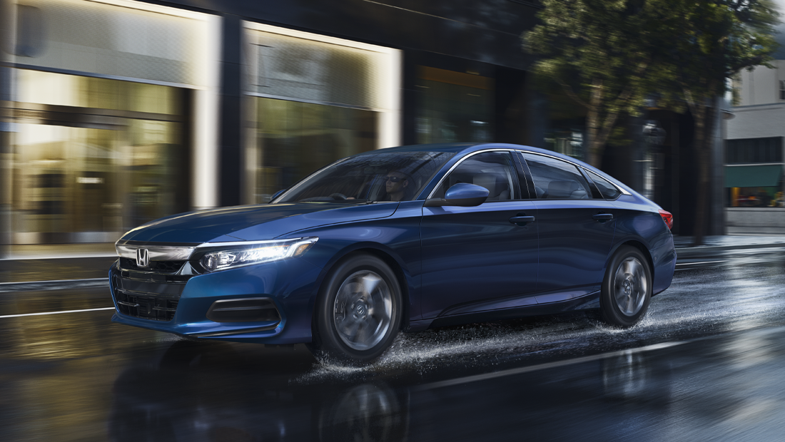 2019 Honda Accord Sedan Sport shown in Still Night Pearl