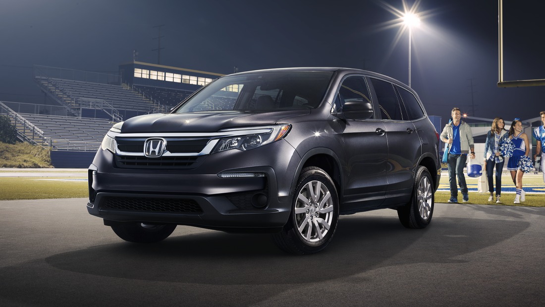 2019 Honda Pilot EX-L shown in Modern Steel Metallic