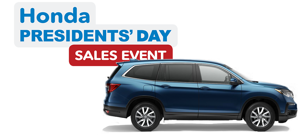 Honda Presidents Day Sales Event -  2020 Pilot EX 2WD
