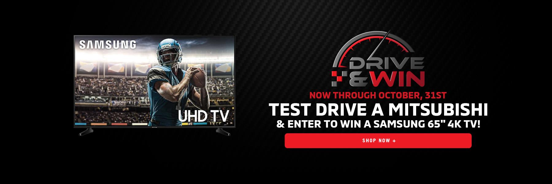 Drive & Win Test Drive Event