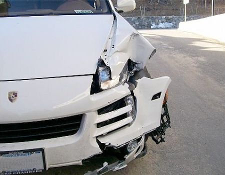 Collision Center - Porsche Before