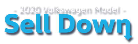 2020 VW Model Sell Down Logo