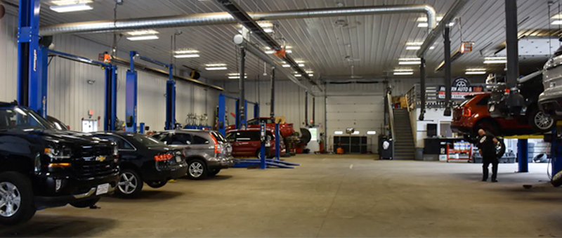 Modern Auto Service Department Gallery 05