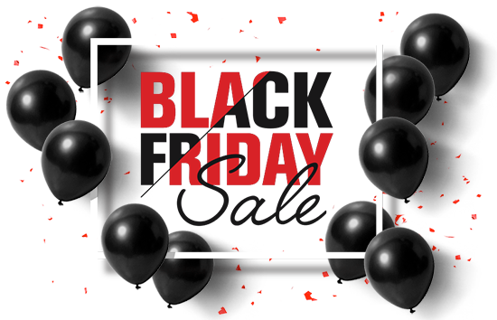 Black Friday Sales Event Logo