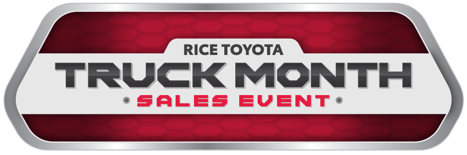 Rice Toyota Truck Month Sales Event