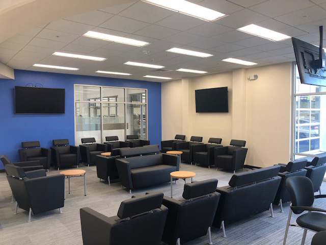 Richards Honda Waiting Room