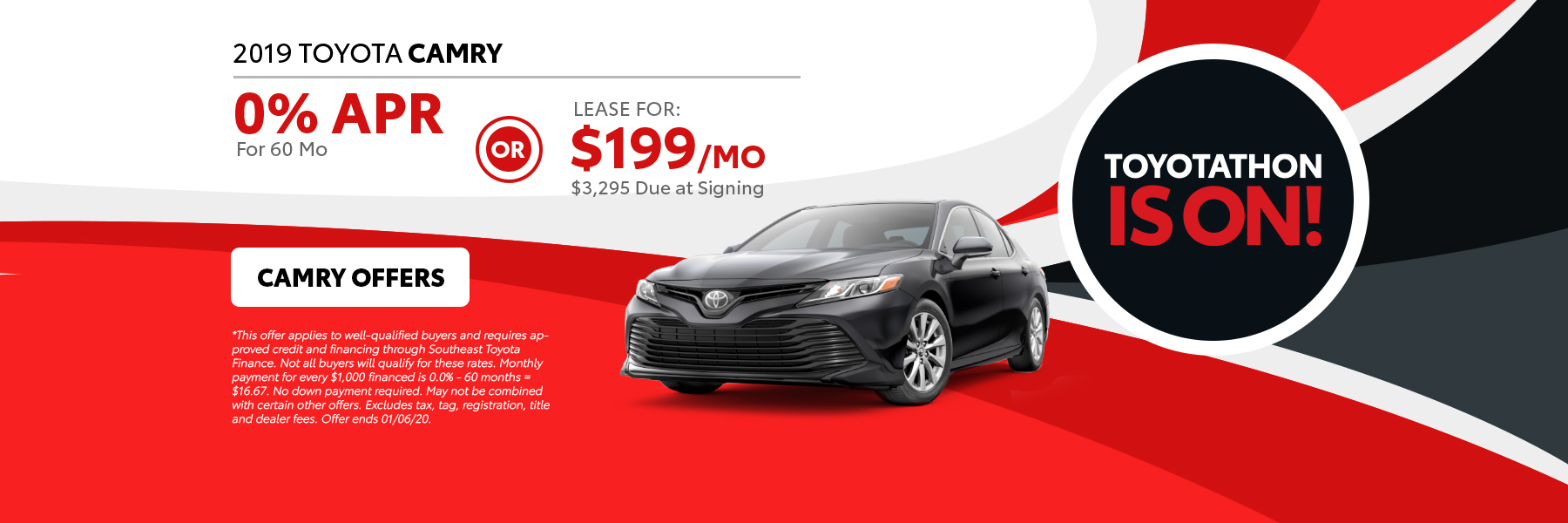 2019 Camry Offers