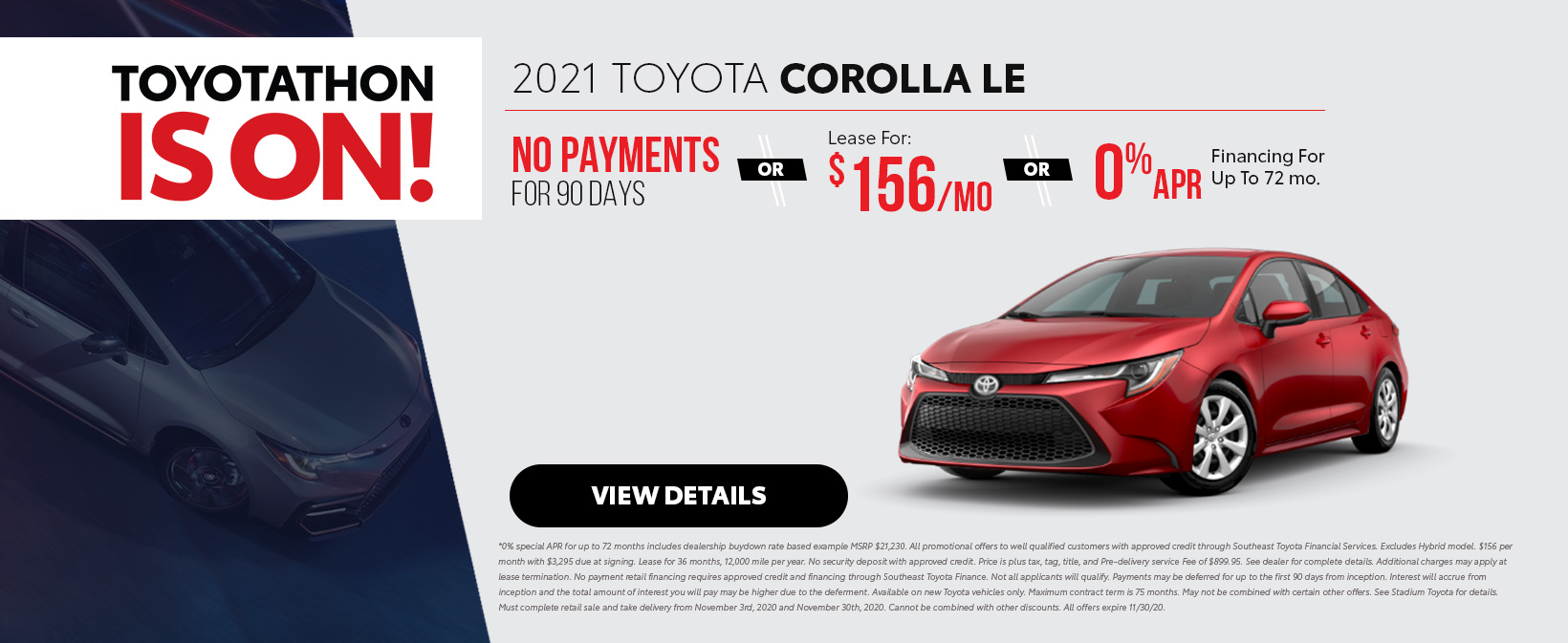 2021 Toyota Corolla Offers