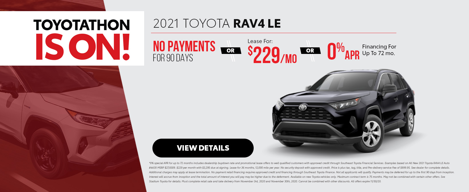 2021 Toyota RAV4 Offers