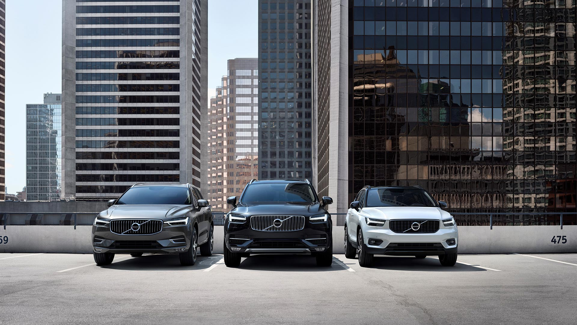 Volvo Line-Up In The City