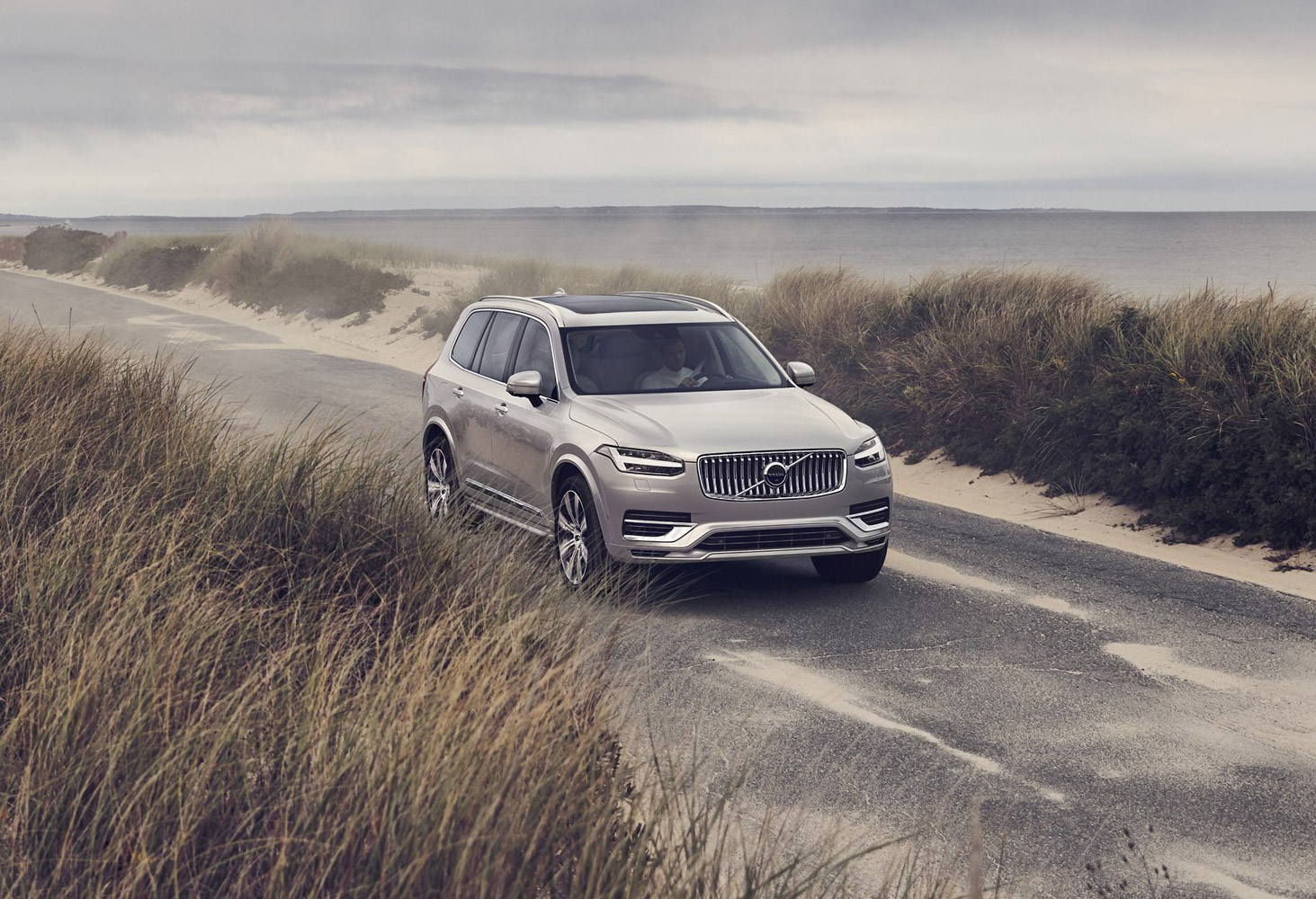 XC90 Driving By Beach