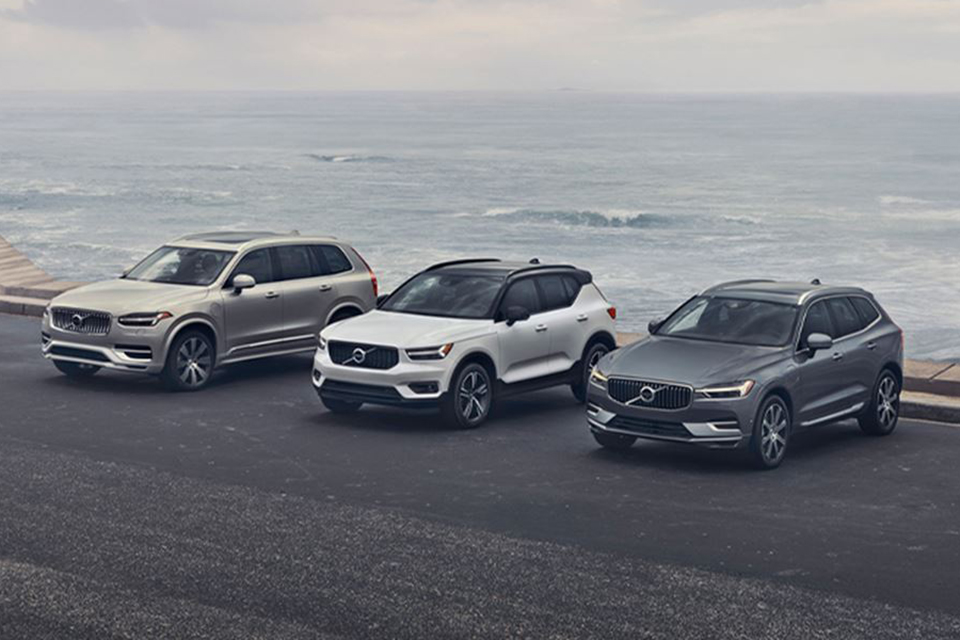 Volvo Vehicle Line-Up