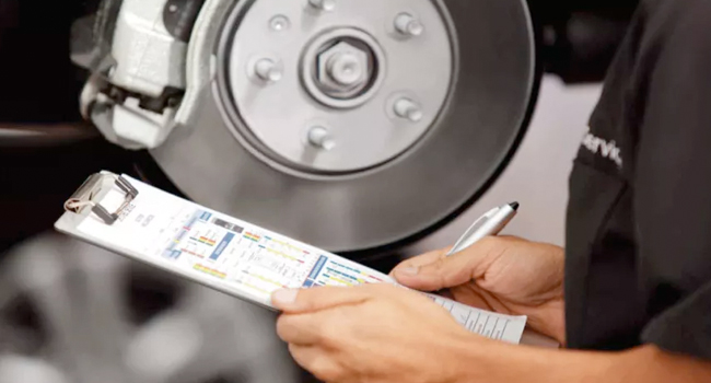 Service Offer - Brake Pad and Rotor Replacement