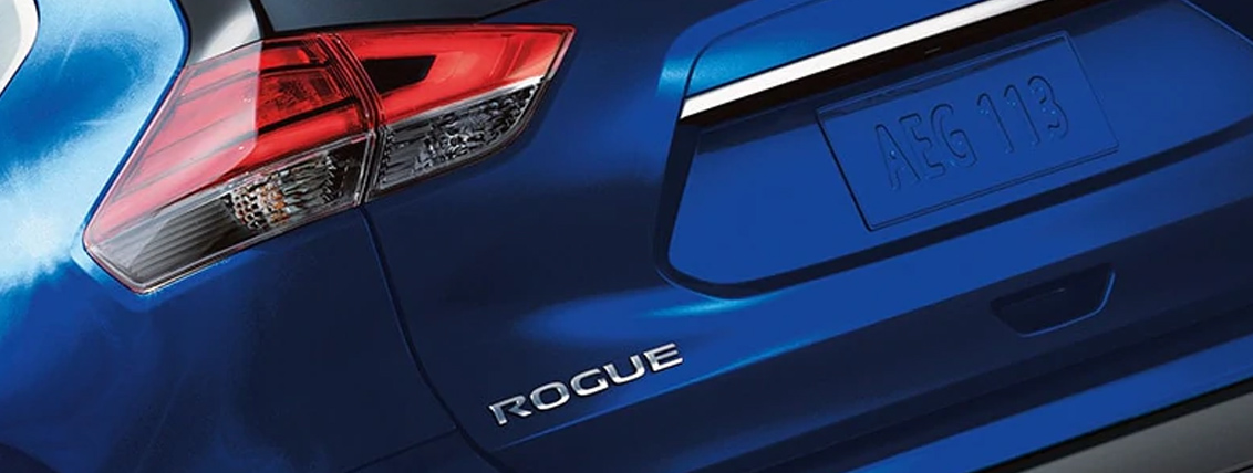 2020 Nissan Rogue Tail light and badge