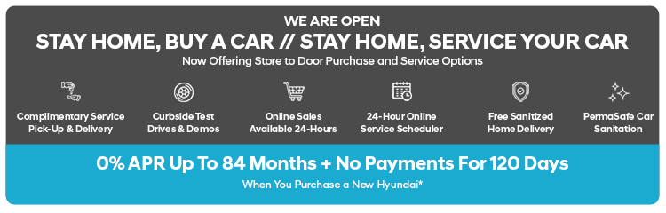 Country Hyundai: Stay Home, Buy A Car | Stay Home, Service Your Car