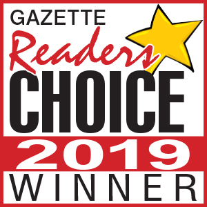 Gazette Reader's Choice 2019 Winner