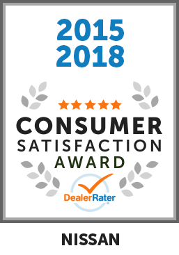 2015, 2018, 2019 DealerRater Consumer Satisfaction Award