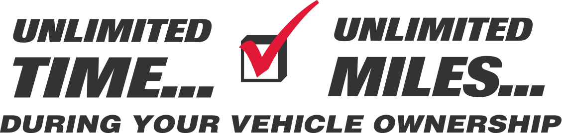 Unlimited Time, Unlimited Miles: During Your Vehicle Ownership
