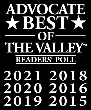 Advocate Best of the Valley Readers Poll logo
