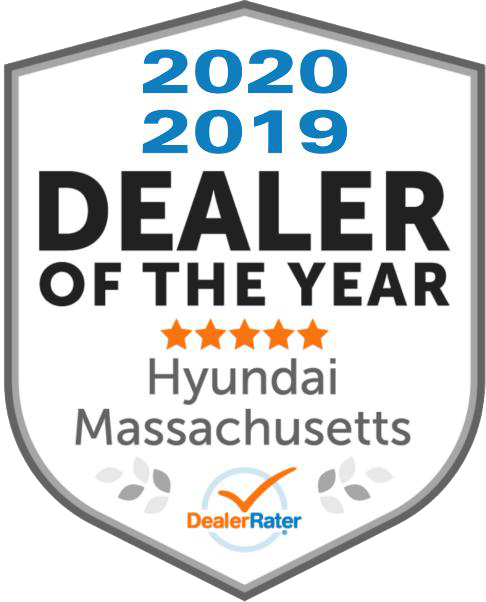 DealerRater Dealer of the Year logo