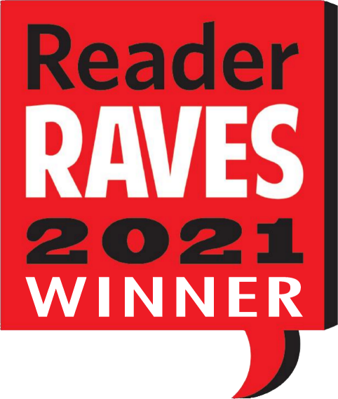 Reader Raves 2021 Winner