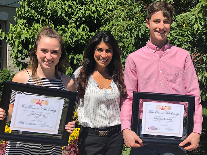 Tom Cosenzi Scholarship Fund - 2018 Winners