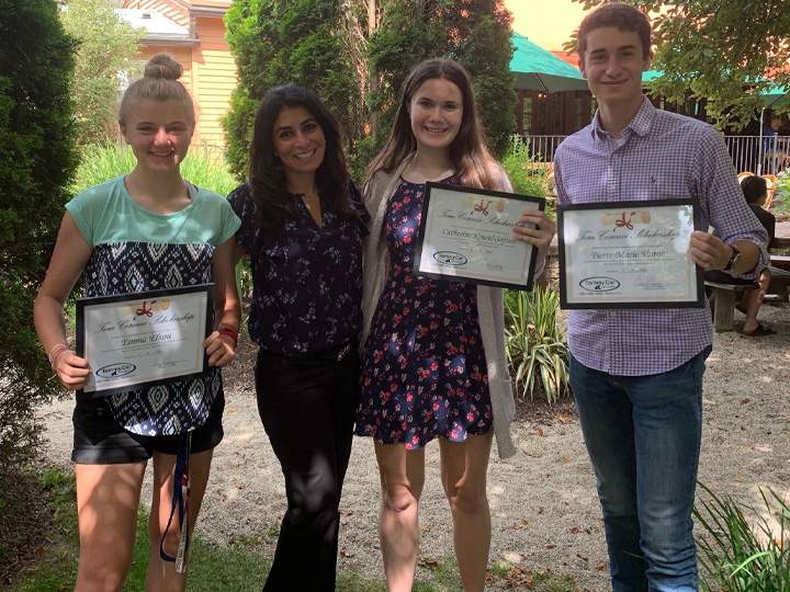 Tom Cosenzi Scholarship Fund - 2020 Winners