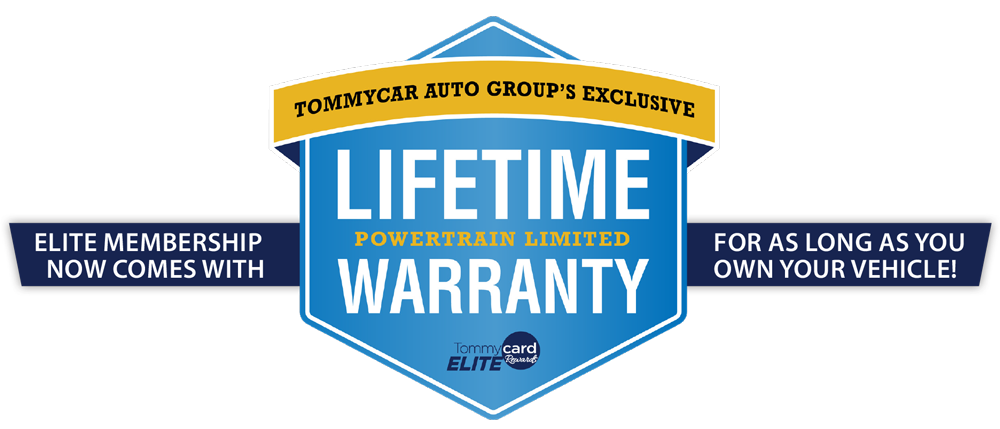 Elite Membership Now Comes With Lifetime Powertrain Limited Warranty For As Long As You Own Your Vehicle!